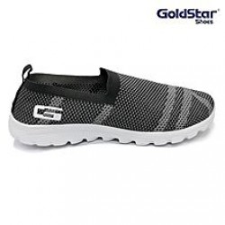 Goldstar Dark Grey Textured Running