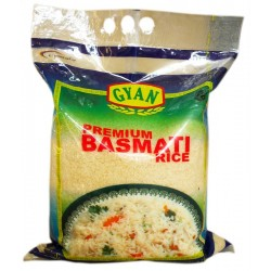 Gyan  premium basmati rice @5 kg  long grain
